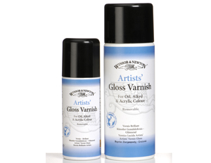 Artists´ Gloss Varnish Úði