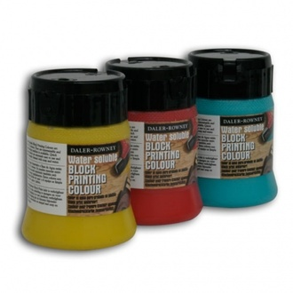 Daler Rowney water soluble block printing ink