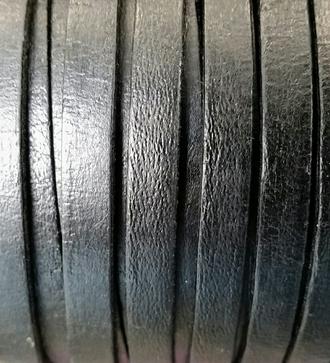 leðurreimar svart flatar
